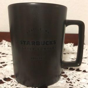 Starbucks Brown 2016 Seattle WA Mug